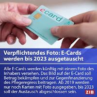 Die E-Card wird künftig mit einem verpflichtenden Foto versehen, um Missbrauch zu bekämpfen.