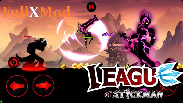League of Stickman 2017 Mod APK