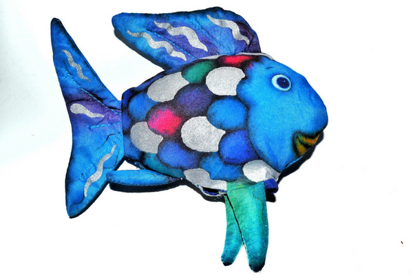 The Rainbow Fish puppet