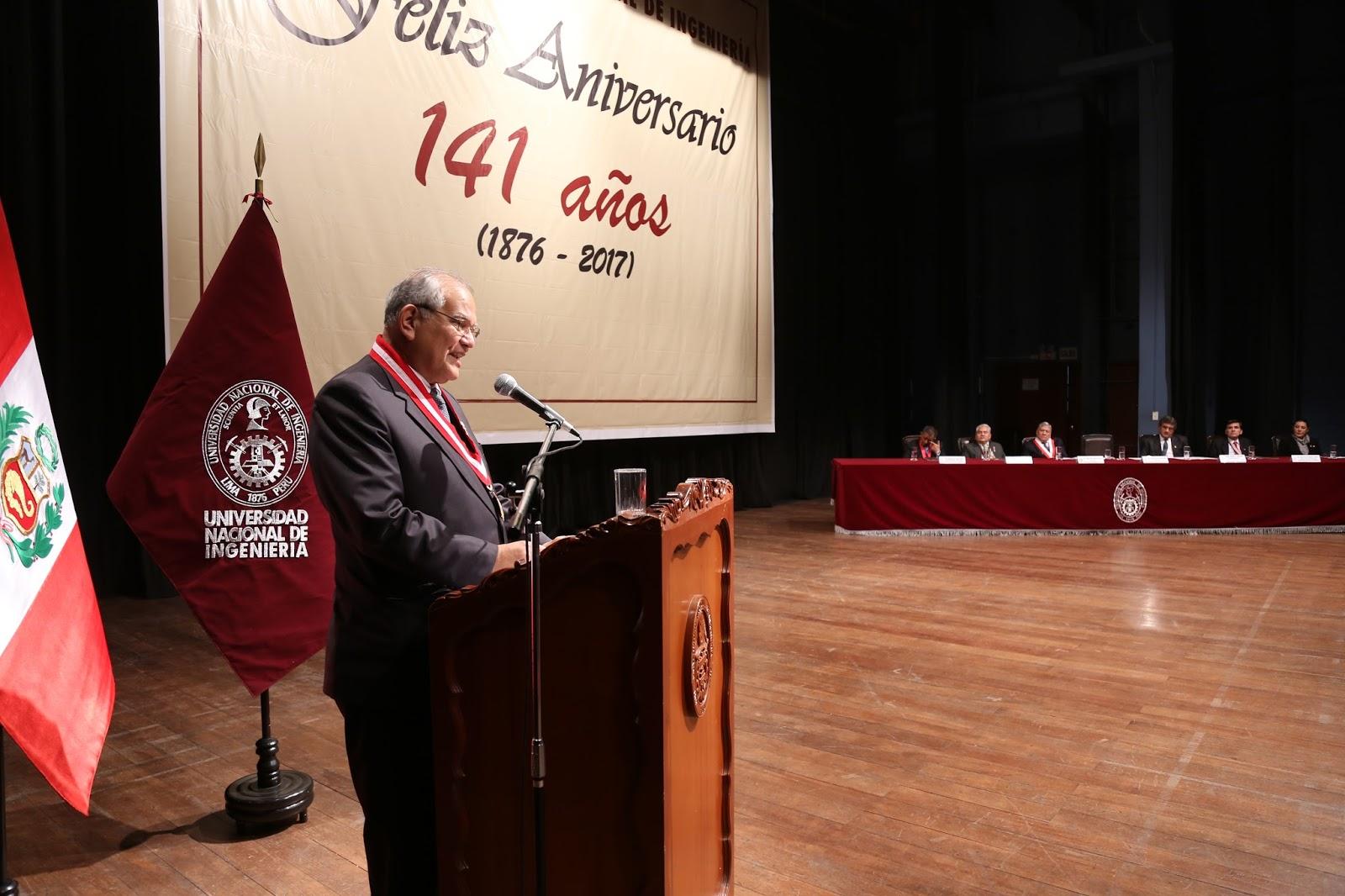 UNI celebró su 141 aniversario con paseo de la bandera, actividades institucionales y culturales