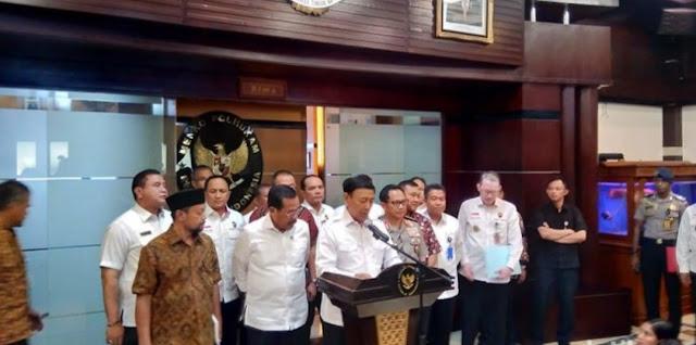 Pernyataan Lengkap Wiranto soal Pembakaran Bendera HTI Ormas yang Sudah Dibubarkan Pemerintah