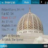تحميل برنامج الاذان لنوكيا n8 مجانا Azan & Prayer Time