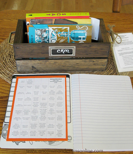 Get your kiddos organized with this Summer Reading Station!  www.uncommondesignsonline.com