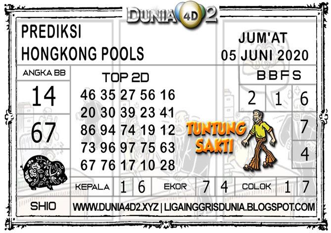 Prediksi Togel HONGKONG DUNIA4D2 05 JUNI 2020