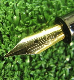 Geha Vintage Fountain Pen Gold Nib Signed