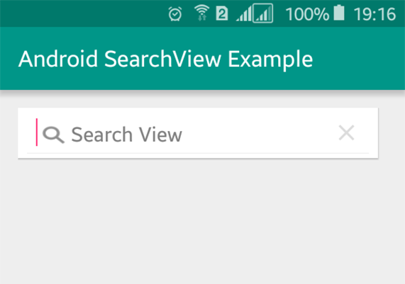 Simple Android Searchview Example Viral Android Tutorials