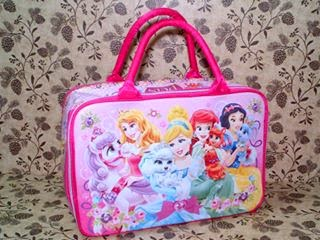Disney Princess Travel Bag Anak