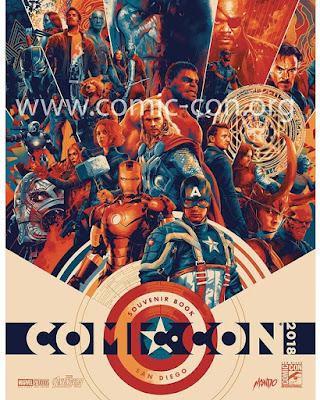 San Diego Comic-Con 2018 Exclusive Marvel Cinematic Universe 10th Anniversary Screen Print by Matt Taylor x Mondo