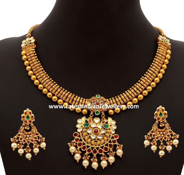 Antique Gold Necklace with price