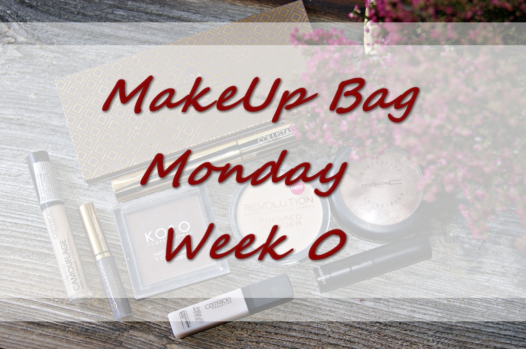 MakeUp Bag Monday - Week 0 ( inspired by Serein Wu )
