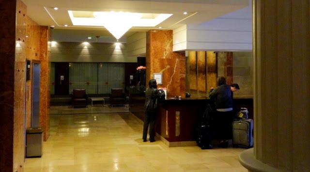 Hotel Reina Isabel, recepção