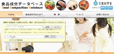 食品成分表でわかりにくい食品一覧 画像