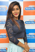 Shravya in skirt and tight top at Vana Villu Movie First Song launch at radio city 91.1 FM ~  Exclusive 30.JPG