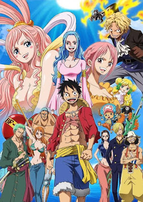 One Piece ganha visual do arco Reverie