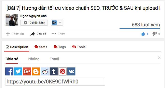 Tối ưu Seo video youtube 7