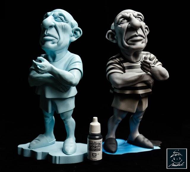 Painted Resin Limited Hauke Scheer Werewolf Bounty Hunter Dick Satisfaction
