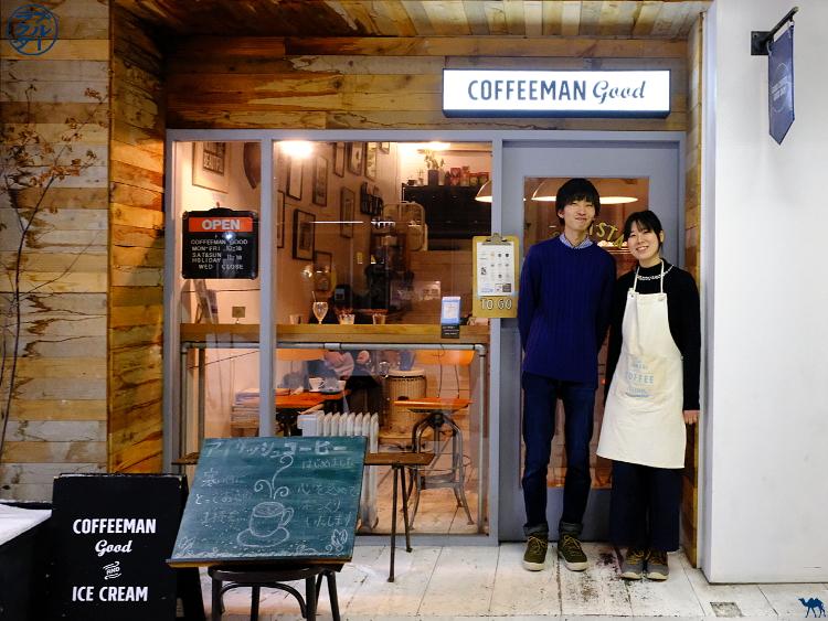 Le Chameau Bleu - Coffeemann good- Adresse a  Aomori Tohoku Japon