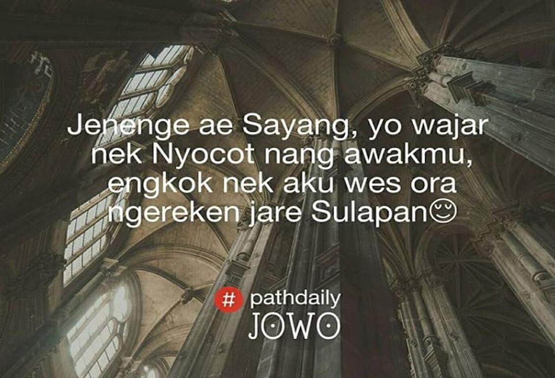 Quotes Jowo Baper Romantis   Kata Kata Mutiara