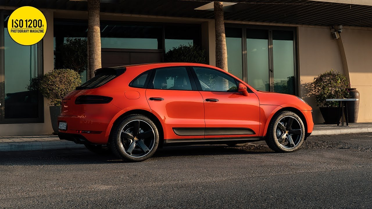 Editing the 2018 Porsche Macan S Photo (Car Photography Tutorial)