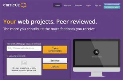 criticue.com web