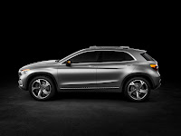 Mercedes-Benz Concept GLA side