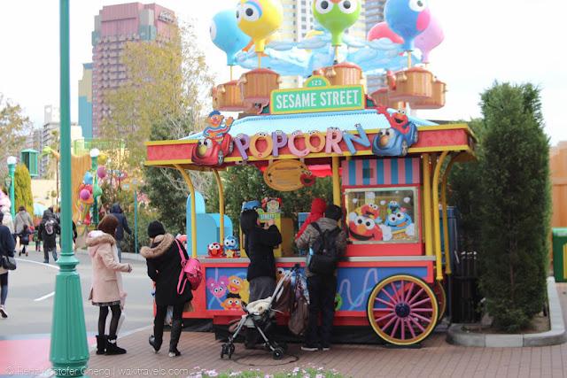 Sesame Street Popcorn Stall