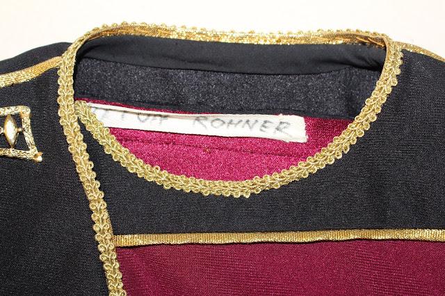 TNG season 1 admiral uniform - fabric