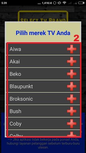 pilih merk TV