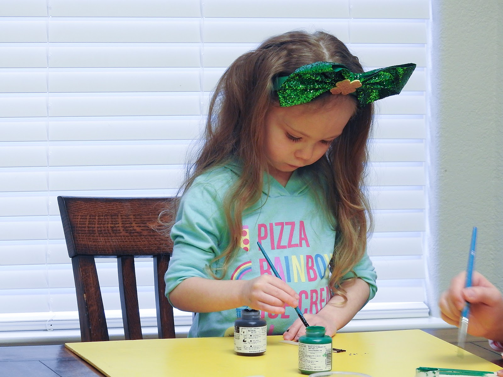 craft popsicle leprachaun