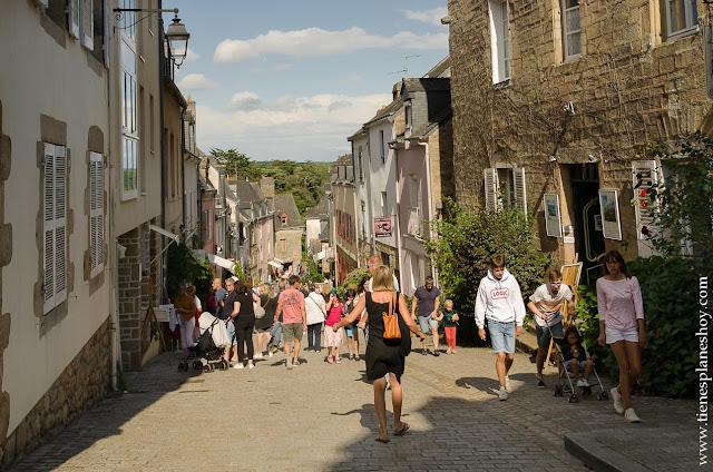 Auray viaje a Bretaña Normandía pueblos encanto Francia