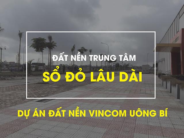 Hình ảnh dự án Vincom Uông Bí kèm văn bản