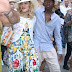 He's just 11? Madonna's son towers above her as they stroll in Italy