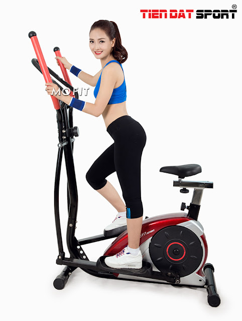 Xe đạp thể dục giúp cho các bạn gái giảm cân hiệu quả