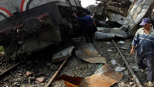 عاجل .. حادث قطار بنى سويف واخر التطورات وتفاصيل الحادث وعدد المصابين