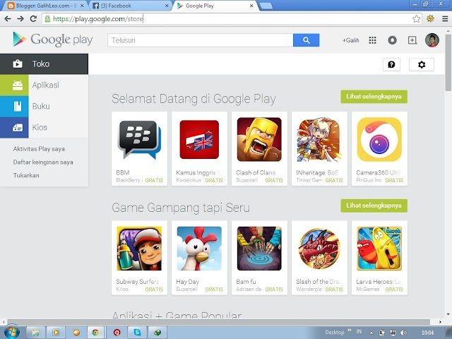 Cara Download File APK di Google Play lewat PC/ Laptop
