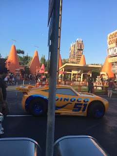 Cruz Ramirez Cozy Cone Disney California Adventure