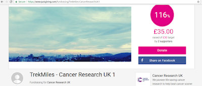 Trek Cancer Research UK Trekking Event