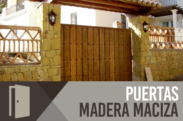 Carpintero Málaga - Puertas interiores de madera