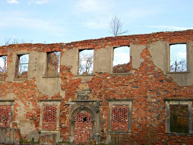zabytkowa ruina, Grębocice