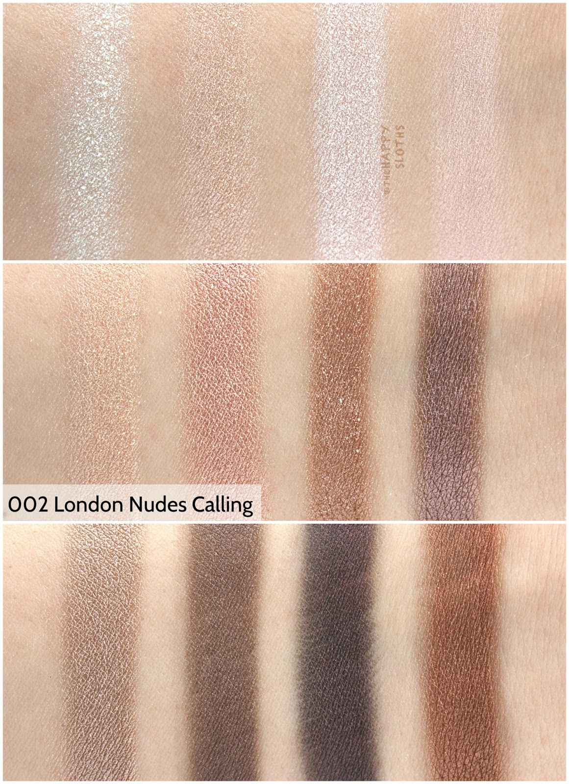 "Rimmel London Magnif'eyes Eyeshadow Contouring Palette in ""002 London Nudes Calling"": Review and Swatches"