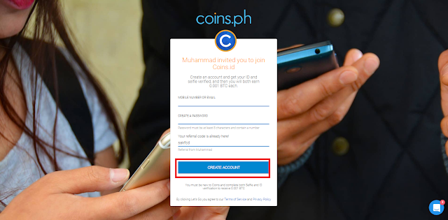 Cara daftar di situs App.coins.id terbaru 2017