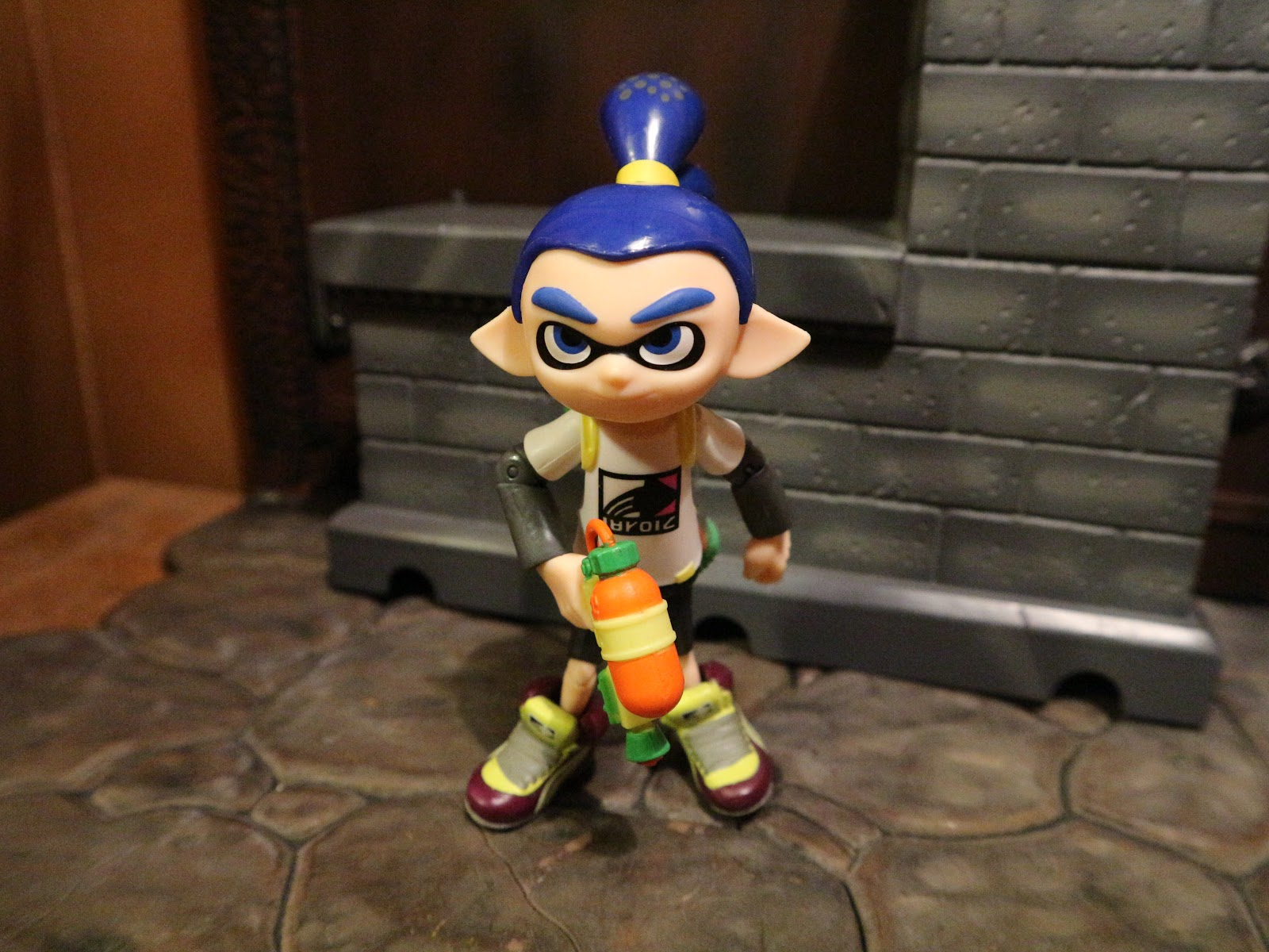 Action Figure Review Inkling Boy From World Of Nintendo By Jakks Pacific