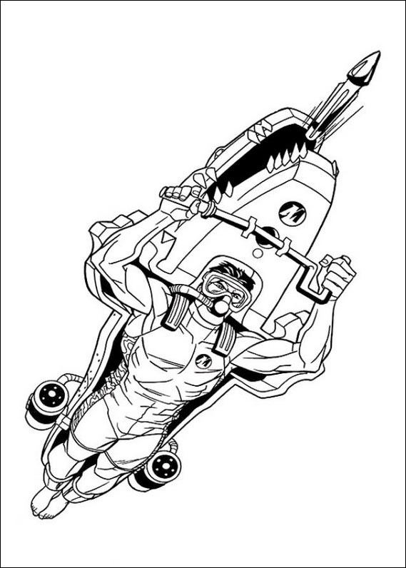 Action Man Coloring Pages | Coloring Pages to Print