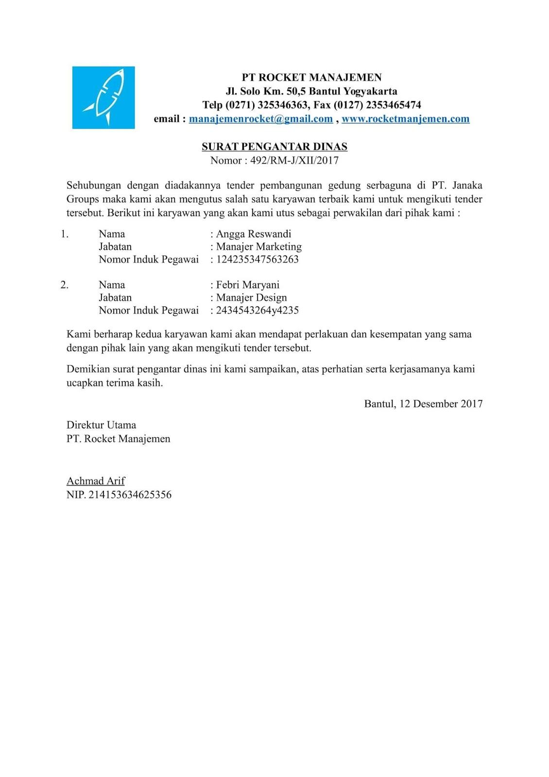Surat Pengantar Rent Interpretomics Co