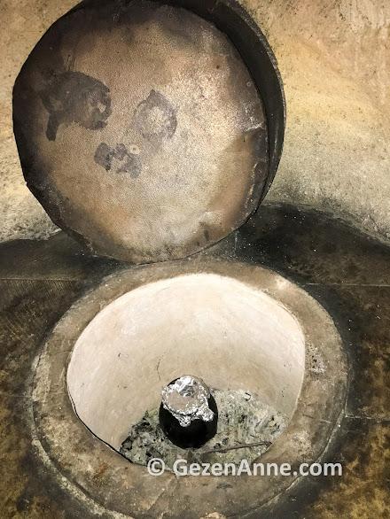 Tandırda pişen tandır çorbası, Fresco Cave Suits hotel Kapadokya Ürgüp