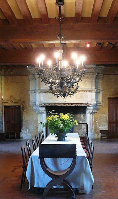 O refeitório de Langeais.