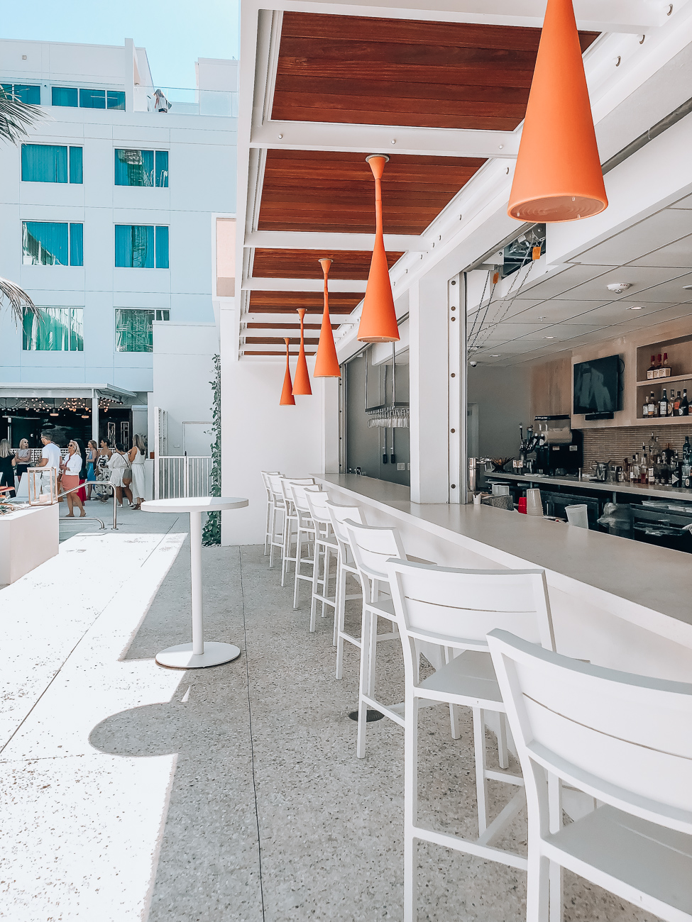 the sarasota modern poolside bar