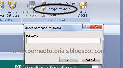 Cara Membuat Dan Menghapus Password Di Ms Access 2007 Belajar Microsoft Access Pdf Cara Menggunakan Microsoft Access Tutorials Ms Word Pdf Belajar Microso