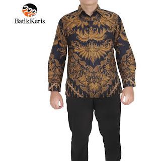 batik keris pria terbaru 2018