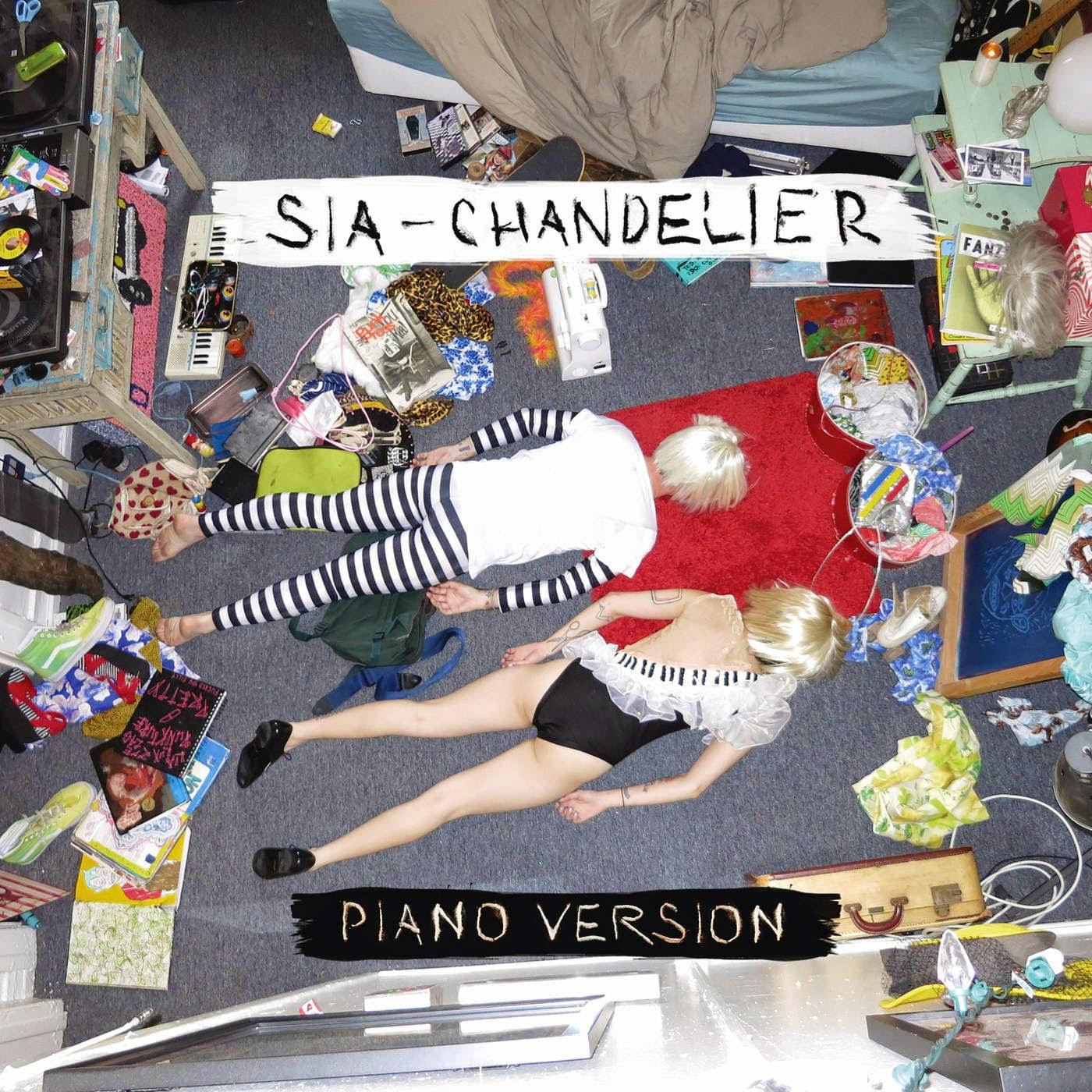 Sia - Chandelier (Piano Version) - Single Cover